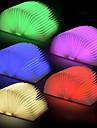 Usb recargable llevo la forma del libro plegable lampara de escritorio lampara de luz nocturna para la decoracion del hogar blanco calido luz rgb