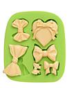 Инструмент для отделки многообещающий конфеты Лед Шоколад Пироги Cupcake Печенье Торты Other Силикон Экологичные Своими руками Свадьба