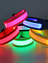 Glow Belt LED Running Armband Waterproof for Camping/Hiking/Caving Cycling/Bike Outdoor-Blue Red Green Cool White