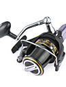 Fishing Reel Spinning Reels 4.1:1 Gear Ratio+14 Ball Bearings Hand Orientation Exchangable Sea Fishing