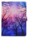 Case For Apple iPad 4/3/2 iPad Air 2 iPad Air with Stand Pattern Full Body Cases Tree Hard PU Leather for iPad 4/3/2 iPad Air iPad Air 2