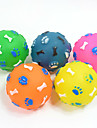 Cat Toy Dog Toy Pet Toys Ball Chew Toy Squeak / Squeaking Bone Rubber For Pets
