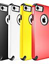 용 충격방지 케이스 뒷면 커버 케이스 단색 하드 PC 용 Apple 아이폰 7 플러스 아이폰 (7)