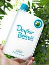 Novidades Aspero Artigos para Bebida, 400 ml Anti-Vazamento Livre de BPA Plastico Suco Garrafas de Agua