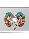 1 Pca. Resistente a Riscos Brincadeira Com Logo da Apple De Plastico Transparente Adesivo Estampa ParaMacBook Pro 15\'\' with Retina