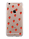 Pour iPhone X iPhone 8 iPhone 8 Plus Etuis coque Transparente Motif Coque Arriere Coque Fruit Flexible PUT pour Apple iPhone X iPhone 8