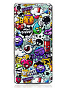 For Sony Xperia XA Case Cover Rubbish Pattern Luminous TPU Material IMD Process Soft Case Phone Case
