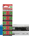 Tmi ag4 монета& Кнопка cell cardon цинковая батарея 1.55v 20 pack