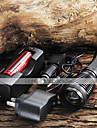 UltraFire Lampes Torches LED LED 1800/2000/2200 lm 5 Mode Cree XM-L T6 avec Pile et Chargeurs Fonction Zoom Camping/Randonnee/Speleologie