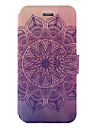 For Samsung Galaxy S8 S8Plus Case Cover Mandala Pattern Painted PU Material Card Holder Mobile Phone Holster Phone Case S7 S7Edge