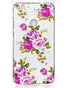 For Huawei P8 Lite(2017) P10 Case Cover Rose Flower Pattern Luminous TPU Material IMD Process Soft Case Phone Case P10 Lite P9 Lite P8 Lite