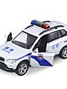 Petites Voiture Vehicules a Friction Arriere Voiture de Police Automatique Unisexe Jouet Cadeau