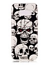 Case For Samsung Galaxy S8 Plus / S8 Glow in the Dark / IMD / Pattern Back Cover Skull Soft TPU for S8 Plus / S8 / S7 edge
