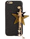 For DIY Case Back Cover Case Glitter Shine Hard PC Star Pendant Case for Apple iPhone 7 Plus iPhone 7 iPhone 6s Plus/6 Plus iPhone 6s/6