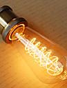 ST64 e27 60w Edison lumiere art deco (220v)