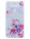 케이스 제품 LG의 K8 LG LG 넥서스 5 배 LG K10 LG의 K7 투명 패턴 뒷면 커버 꽃장식 소프트 TPU 용 LG X Power LG V20 LG G6