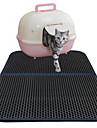 Кошка Кровати Животные Коврики и подушки Однотонный Водонепроницаемость Двусторонний Дышащий Складной Черный Для домашних животных