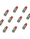 10Pcs T10 9*5050 SMD LED Car Light Bulb Bule Light DC12V