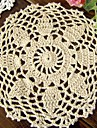 Set of 6 pieces doily Assorted Shabby Chic Vintage Look Crocheted Doilies Mix Color