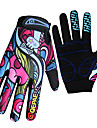 QEPAE Sports Gloves Bike Gloves / Cycling Gloves Keep Warm Ultraviolet Resistant Wearproof Reduces Chafing Anti-skidding Full-finger