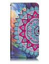 Case For Apple iPhone X iPhone 8 Wallet with Stand Flip Magnetic Pattern Embossed Full Body Cases Mandala Hard PU Leather for iPhone X