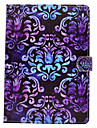 Case For Apple iPad 4/3/2 iPad Air 2 iPad Air Card Holder Wallet with Stand Flip Magnetic Pattern Full Body Cases Mandala Lace Printing