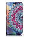For Samsung Galaxy S8 Plus S8 Phone Case Mandala Pattern Varnishing Process PU Leather Material Phone Case S7 Edge S7 S6 Edge S6
