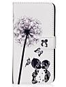 Capinha Para Samsung Galaxy S8 Plus S8 Porta-Cartao Carteira Com Suporte Flip Magnetica Estampada Capa Protecao Completa dandelion Rigida