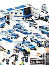 SHIBIAO Конструкторы 1040 pcs Своими руками Военные корабли Летательный аппарат Полиция Универсальные Подарок