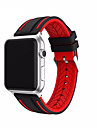 Bande de Montre pour Apple Watch serie 1 2 38mm sangle de rechange de silicone classique 42mm
