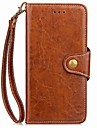 Capinha Para LG G3 LG LG G5 LG G4 Porta-Cartao Carteira Com Suporte Flip Magnetica Capa Protecao Completa Cor Solida Rigida PU Leather