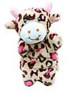Marionnettes de Doigt Marionnettes Jouets Cow Mignon Animaux Adorable Tissu Pelouche Pluche Enfant Pieces