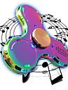 Toupies Fidget Spinner a main Jouets Tri-Spinner LED Spinner Metal EDC Haut-parleur Bluetooth Soulagement de stress et l\'anxiete Jouets