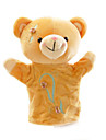 Пальцевая кукла Марионетки Пальцевые куклы Игрушки Животный принт Милый стиль Милый Плюшевый медведь Плюш Куски