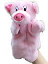 Stuffed Toys Fantoche de Dedo Fantoches Brinquedos Porco Animal Fofinho Animais Adoravel Tactel Felpudo Criancas Pecas