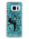 Case For Samsung Galaxy S8 Plus S8 Flowing Liquid Transparent Pattern Back Cover Butterfly Transparent Glitter Shine Hard PC for S8 Plus