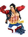 애니메이션 액션 피규어 에서 영감을 받다 One Piece Monkey D. Luffy PVC 17.5 CM 모델 완구 인형 장난감