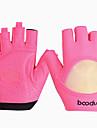 BOODUN® أنشطة / قفازات الرياضة قفازات الدراجة يمكن ارتداؤها متنفس سترة واقيه مقتطفات واقي Fingerless نايلون Fitness للمرأة