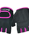 Demi-doigt Unisexe Gants de moto fibre Superfine Filet Avion-ecole
