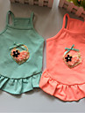 Dog Dress Dog Clothes Casual/Daily Solid Blushing Pink Blue Orange