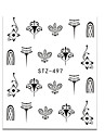20pcs/set Nail Decals / Nail Art DIY Tool Accessory Water Transfer Sticker / Nail Sticker Stickers / Nail Art Design