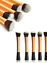 Make-up pensler Professionel Brush Sets Nylon Børste Bærbar / Professionel Metal