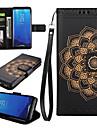 Θήκη Za Samsung Galaxy S8 Plus S8 Utor za kartice Novčanik sa stalkom Zaokret Korice Mandala Tvrdo PU koža za S8 Plus S8 S7 edge S7 S6 S5