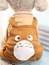 Psy Kostium Płaszcz Kombinezon Ubrania dla psów Zwierzę Fioletowy Kawowy Czerwony Bawełna Kostium Na Wiosna i jesień Zima Męskie Damskie Impreza Cosplay Codzienne