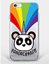 Case for iPhone 7 Plus iPhone 6 Panda pattern Phone Soft Shell for iPhone 7 iPhone6/6s Plus iPhone6/6s iPhone5 5s SE