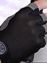 Luvas Esportivas Luvas de Ciclismo Vestivel / Respiravel / Proteccao Sem Dedo Tecido Ciclismo / Moto Unisexo