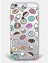 Etui pour iphone 7 plus iphone 6 modele de nourriture motif doux pour iphone 7 iphone6 / 6s plus iphone6 / 6s iphone5 5s se