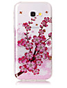 Case For Samsung Galaxy A5(2017) A3(2017) IMD Pattern Back Cover Flower Glitter Shine Soft TPU for A3(2017) A5(2017)