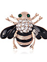 Women\'s Brooches - Crystal, Imitation Diamond Bee, Animal Personalized, Luxury, Classic Brooch Assorted Color For Christmas / Wedding / Party