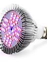 E26/E27 Luz de LED para Estufas 48 SMD 5730 2400-2600 lm Vermelho Azul K AC 85-265 V
